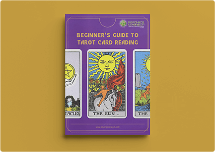 tarot card reading guide ebook mockup